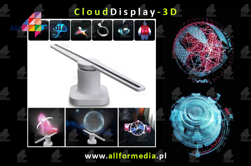 Cloud Display 3d-4