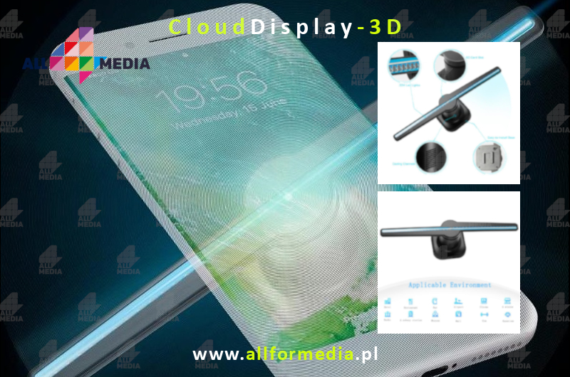 Cloud Display 3d-3