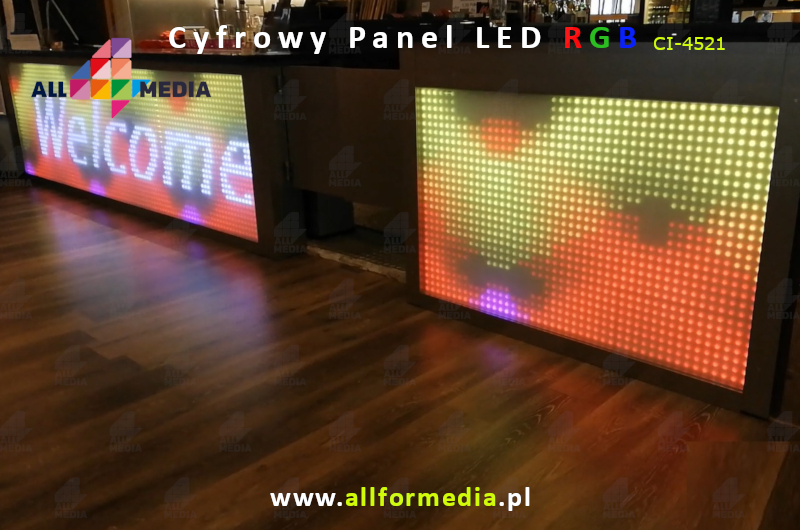 Panel LED-Cyfrowy 8