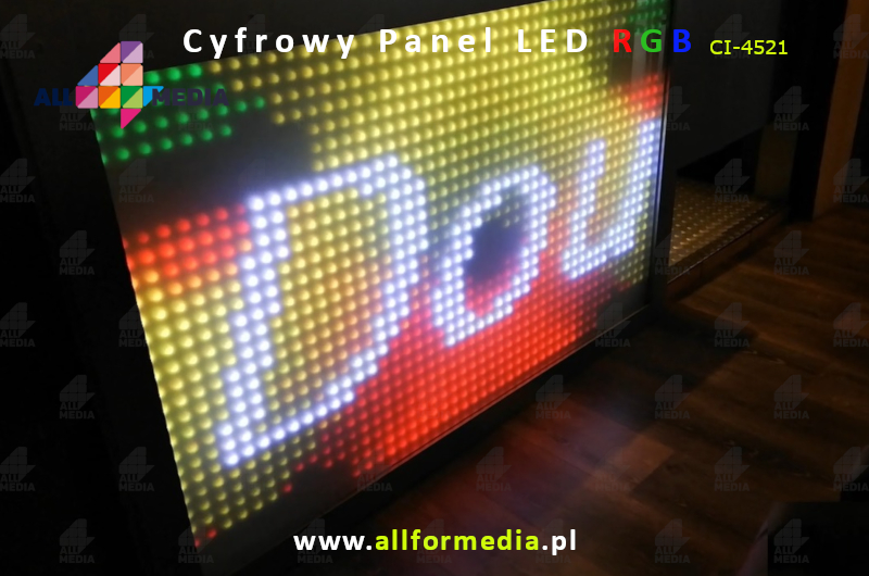 Panel LED-Cyfrowy 4